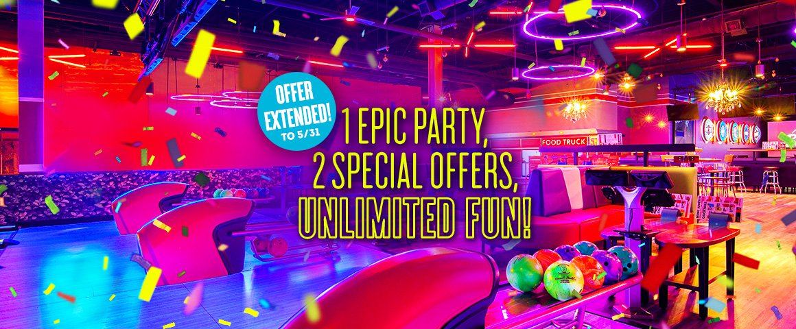 1 epic party 2 special offers unlimited fun
