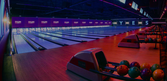 bowling lanes different angle