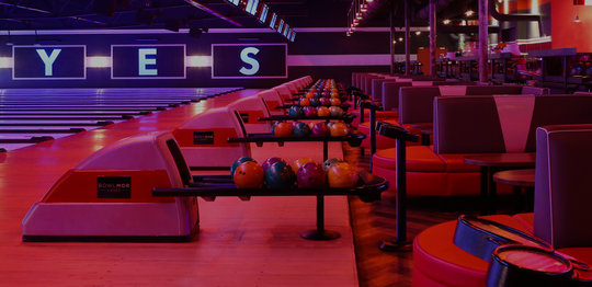seating on the lanes