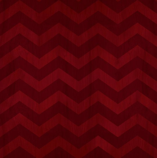 red zig zag wood pattern