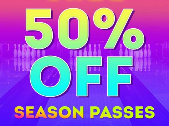50% off season passes